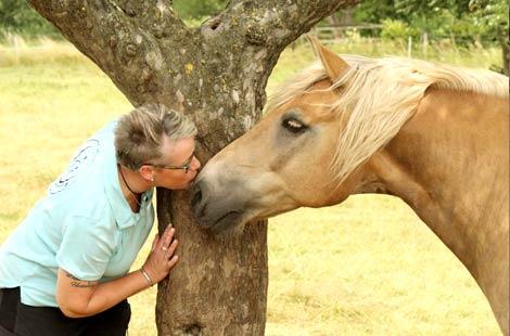 Elke Thiel und Pferd Henry